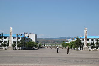 Hoeryong - Hoeryong City Centre