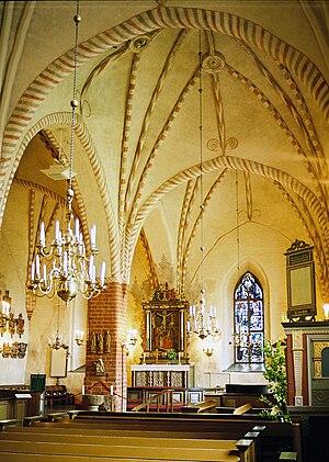 Päijänne Tavastia - Image: Hollola church interior