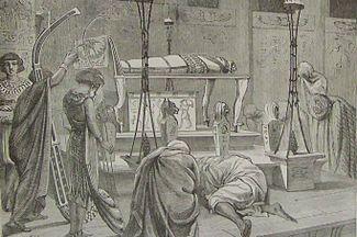 Holman Burying the Body of Joseph