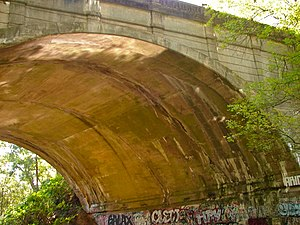 Holme Circle, Philadelphia - Holme Ave Bridge Crossing Pennypack Creek
