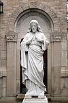 Holy Name Catholic Church (Columbus, Ohio) - Sacred Heart statue.JPG