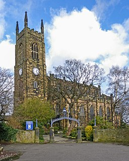 Holy Trinity Church, Huddersfield Church in Huddersfield, United Kingdom