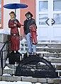 Holzskulpturen am alten Rathaus in Neuwürschnitz, Sachsen 2H1A7130WI.jpg