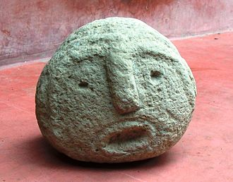 San Juan Achiutla - The Achiutla's man. Pre-Columbian piece. San Juan Achiutla.