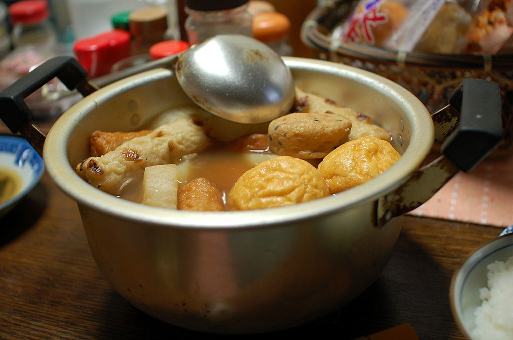 Home made oden by TOMOYOSHI in Tokyo