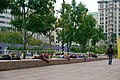 Homeless people sleeping in Pershing Square in Downtown Los Angeles (DTLA) 13.jpg