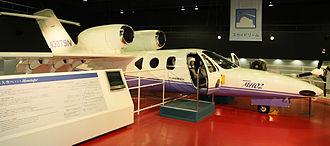 Honda MH02 - MH02 experimental aircraft