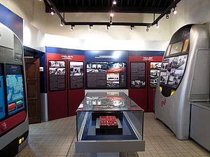 Hong Kong Railway Museum - Exhibition gallery include historical pictures and artifacts that help chronicle the story of how the railways developed in Hong Kong