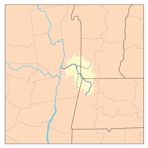 Hoosic River - Map of the Hoosic River Watershed