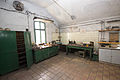 Hornický skanzen Mayrau, pracovní stoly.jpg