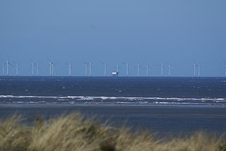 group of Danish offshore wind farms in the North Sea