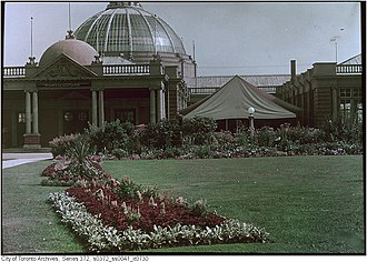Horticulture Building (Toronto) - Image: Horticulture Building North View 1912