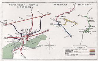 St Helens and Runcorn Gap Railway - Image: Hough Green, Widnes & Runcorn Barnstaple Mansfield RJD 18