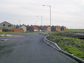 North Blyth, Northumberland - North Blyth settlement in November 2006
