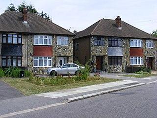 Clayhall human settlement in United Kingdom