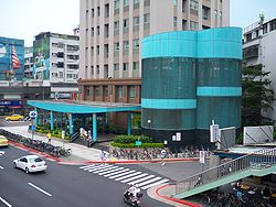 Houshanpi Station Exit2.jpg