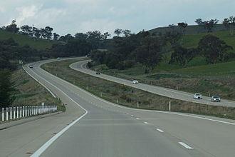 Freeways in Australia - M31 Hume Highway near Gundagai