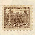 Hungarian stamp of the war-prisoners' help after WWI 1919.jpg