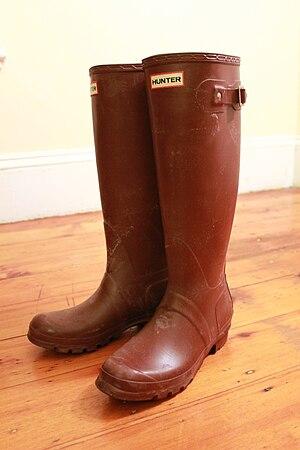 Hunter Boot Ltd - A pair of Hunter 'Original Tall' wellington boots.