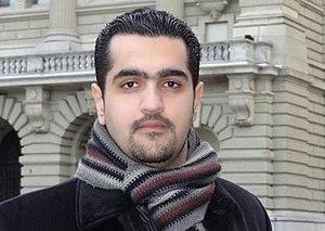 Hussain Jawad - Hussain Jawad in Bern, Switzerland in 2012.