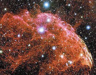 IC 443 Supernova remnant in the constellation Gemini