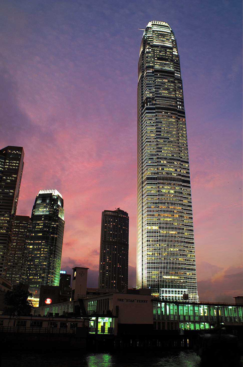 List of tallest buildings in Hong Kong - Simple English