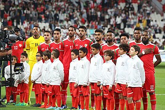 Oman national football team - Omani players during 2019 AFC Asian Cup