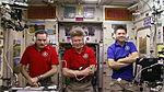 ISS-44 Russian crew members speak to Dmitri Medvedev.jpg