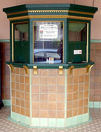 Box office - Box office at the Iao Theater, Maui, Hawaii, United States