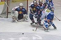 Ice Hockey goalkeeper Irbe of EC Red Bull Salzburg.jpg