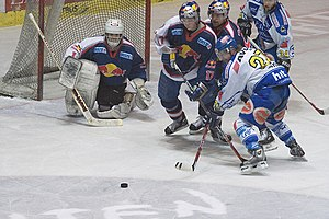 Artūrs Irbe - Irbe with the EC Red Bull Salzburg in 2005–06 season