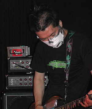 Ichirou Agata - Ichirou Agata live (2005) in a surgical mask