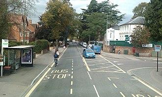 Iffley Road - View along Iffley Road.