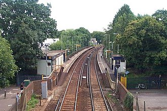 Ifield railway station - Image: Ifieldhalt