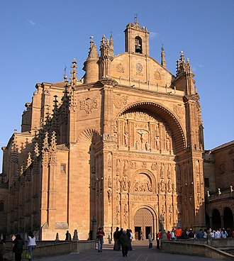 Convento de San Esteban, Salamanca - Iglesia del Convento de San Esteban.
