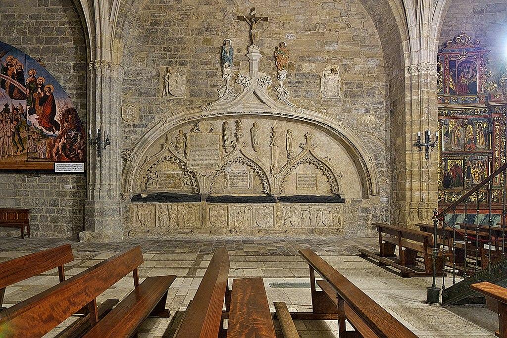 Iglesia de San Nicolás (Burgos). Sepulcros de los Maluenda.jpg