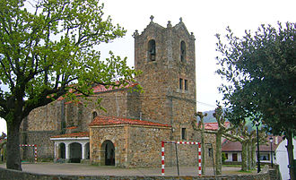 Limpias - Church in Seña, Limpias.
