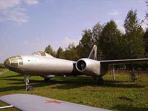 Ulyanovsk Aircraft Museum - Image: Il 28 in Ulyanovsk Aircraft Museum