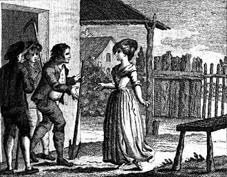 Il filosofo di campagna - Illustration from the 1795 publication of Goldoni's libretto