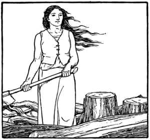 The Master Maid - Illustration from Jacobs' version by John D. Batten