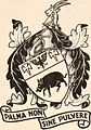 """Image from page 330 of """"Armorial families - a directory of gentlemen of coat-armour"""" (1905) (14784849262).jpg"""