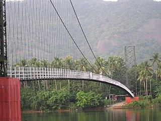 Kothamangalam Town in Kerala, India