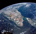 India and Ceylon as seen from the orbiting Gemini-11 spacecraft.jpg