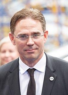 Jyrki Katainen Finnish politician