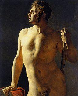 Ingres - estudo de nu - 1801