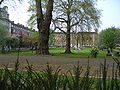 Inner Temple, shot through the fence from Embankment Rd.jpg