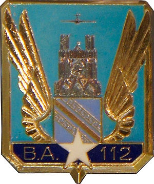 Reims – Champagne Air Base - BA112 insignia .