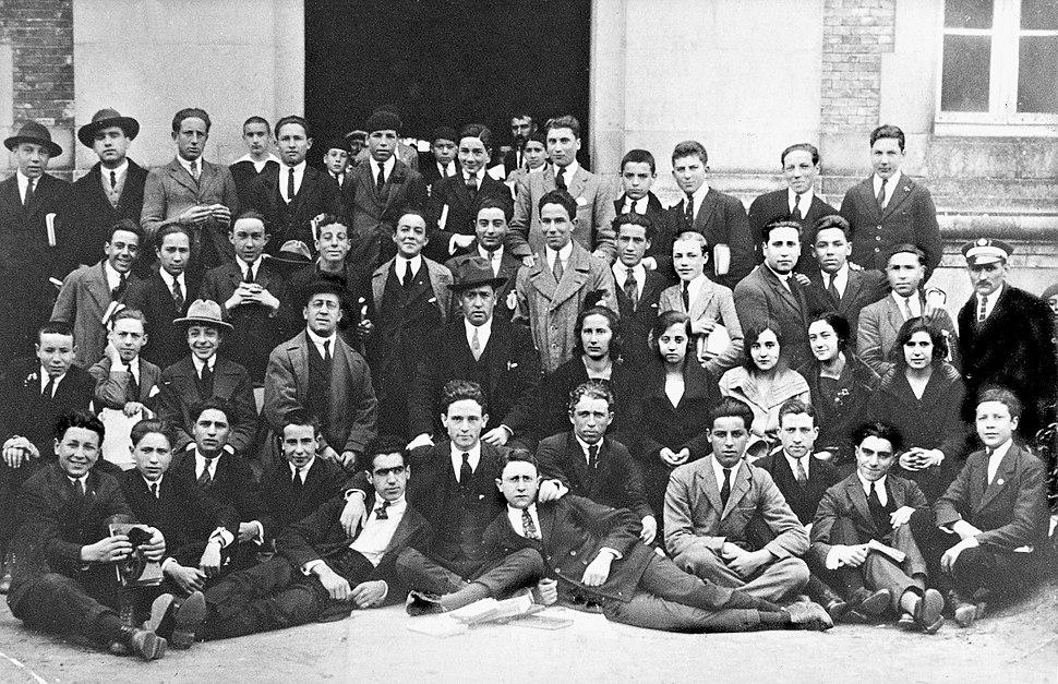 Instituto de Pontevedra. Alumnos de 1923