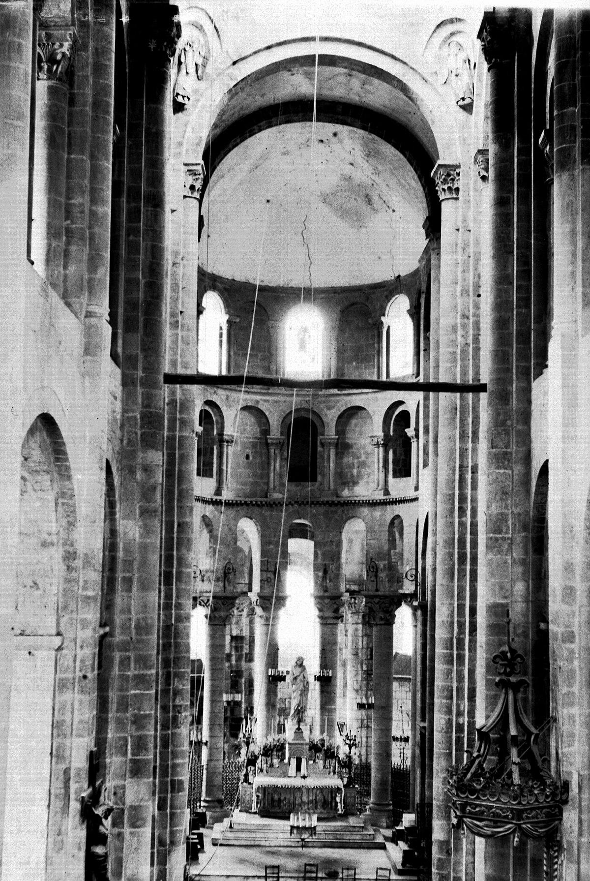 Architecte D Intérieur Aveyron file:intérieur église de conques, aveyron (8357636356)