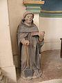 Intérieur de l'église Saint-Pierre et Saint-Paul de Jouy-sous-Thelle statue 2.JPG
